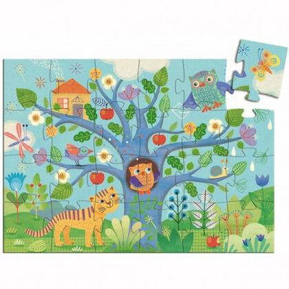 Puzzle Djeco Suilueta búho