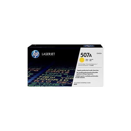 Tóner HP LaserJet 507A Amarillo