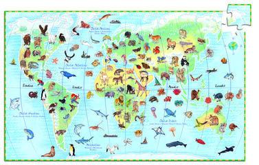 Puzzle Djeco Animales del mundo