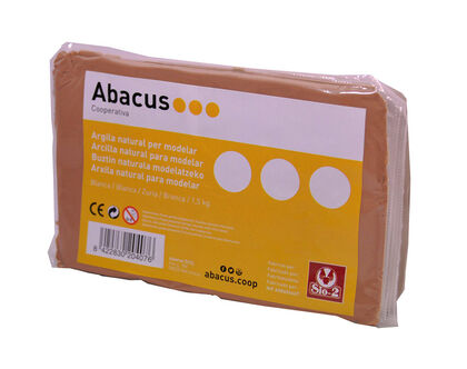 Barro Abacus 1,5 Kg Tierra