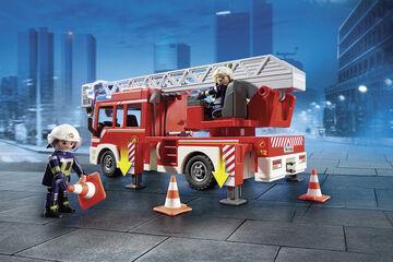 Playmobil City Action Bomberos camión escala