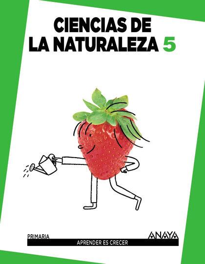 Naturales/Aprender Crecer PRIMÀRIA 5 Anaya Text 9788467849844