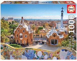 Puzzle Educa Barcelona desde Parque Güell