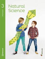 Natural Science/SB PRIMÀRIA 3 Santillana Text 9788468086736