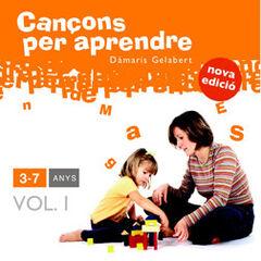 CANÇONS PER APRENDRE 3-7 ANYS VOL. I