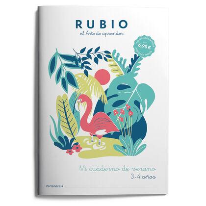 RUBIO P3 Mi cuaderno de verano 3-4 9788417427658