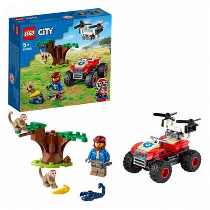 LEGO City Rescat Fauna Salvatge Quad