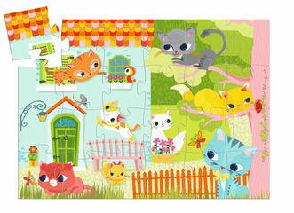 Puzzle Djeco Silueta Pach y amigos
