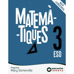 Matemàtiques/Mary Somerville ESO 3 Barcanova Text 9788448950804