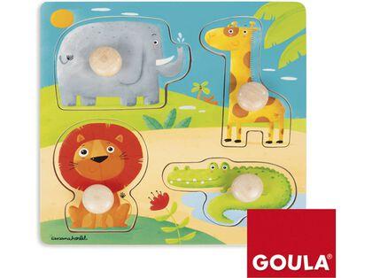Encaix Goula  Animals Selva
