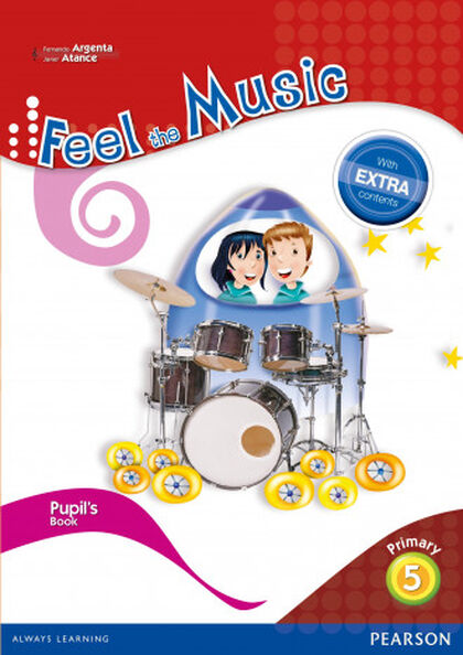 FEEL THE MUSIC PUPILS BOOK 5º PRIMARIA Pearson 9788420564395