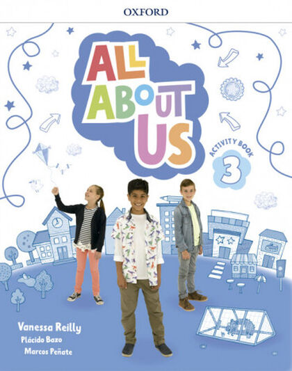 ALL ABOUT US 3 ACTIVITY BOOK PK Oxford 9780194562249