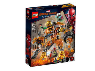 LEGO Superhéroes Molten man (76128)
