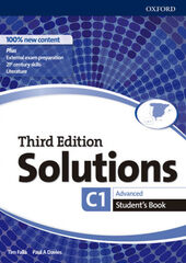 SOLUTIONS ADVANCED STUDENT'S BOOK 3ED Oxford 9780194523677