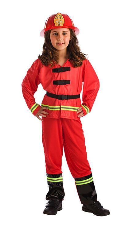 Disfraz Bombero/a De 6 a 7 años