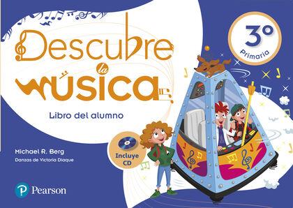 Descubre música PRIMÀRIA 3 Pearson 9788420566399