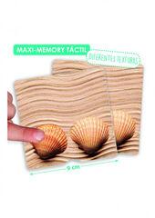 Joc d'associació Akros Maxi-memory Tàctil natura