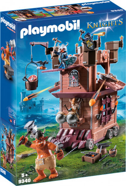 Playmobil Knights Enanos fortaleza