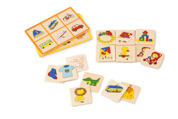 Loto Imágenes - Word Bingo