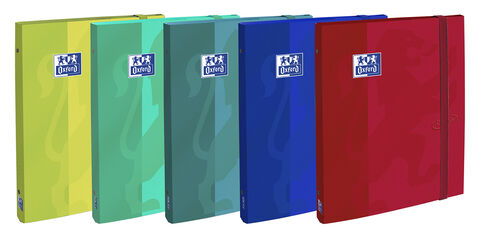 Carpeta Clasificadora Oxford Touch Texd A4 Colores Surtidos