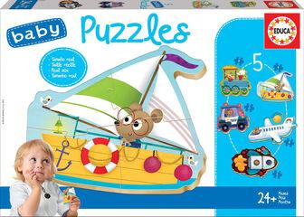 Puzzle Educa Vehículos 2