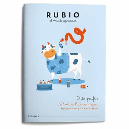 Rubio e1 ortografía 1 6-7/empezar