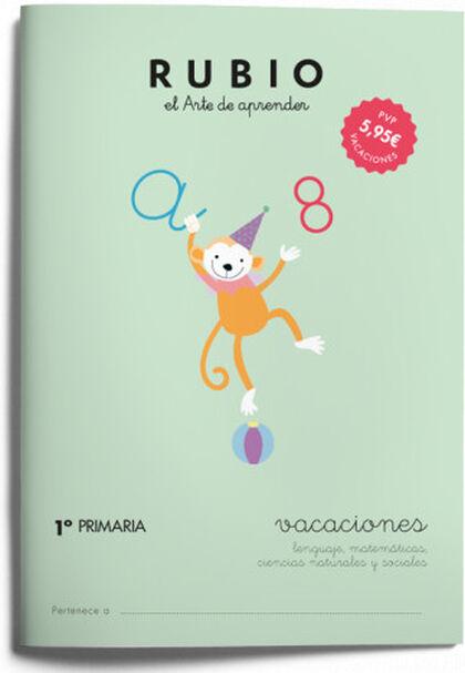 VACACIONES 1º PRIMARIA Rubio 9788415971610
