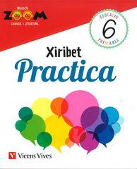 Valencià-Xiribet-quad.(3)/Zoom PRIMÀRIA 6 Vicens Vives 9788468244129