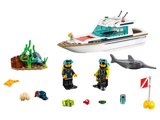 LEGO City Yate buceo (60221)