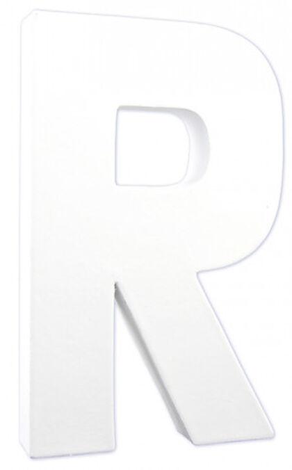 LETRA DECOPATCH R 20,5x12x3cm
