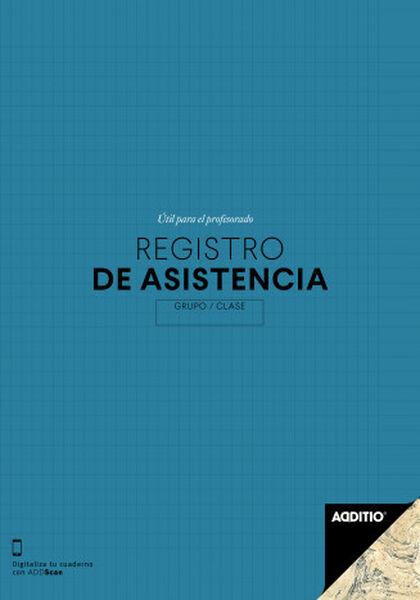 Libreta Additio Registro asistencia Castellano