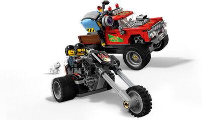 LEGO Hidden Side Camió acrobàtic del foc (70421)