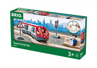 Set Circuit circular Tren Brio