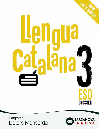 Català/Dolors Monserdà ESO 3 Barcanova Text 9788448950385