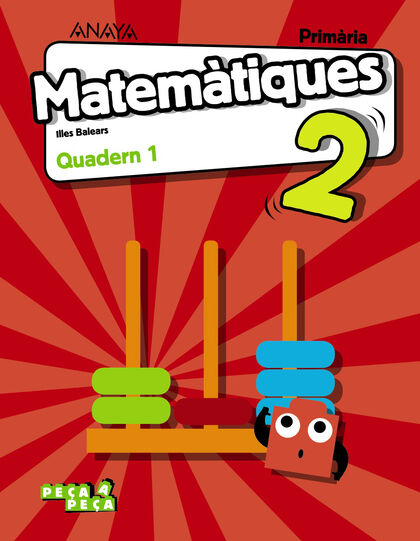 ANIB E2 Matemàtiques-Quadern 1/18 Anaya Text 9788469838266