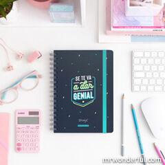 Agenda Escolar Mr.Wonderful Se te va a dar genial 2020 - 2021 A5 Semana