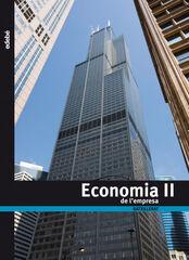 ECONOMIA DE L'EMPRESA 2n BATXILLERAT Edebé 9788423692507