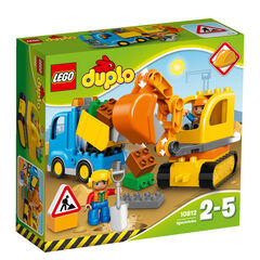 LEGO Duplo Camión y excavadora (10812)