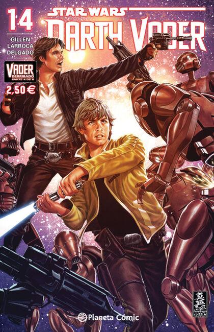 Star Wars Darth Vader nº 14/25 (Vader derribado nº 04/06)