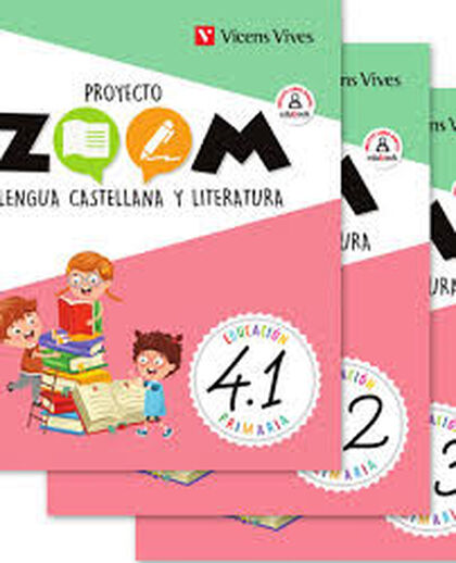 Lengua(3)/Zoom PRIMÀRIA 4 Vicens Vives 9788468261928