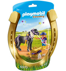 Figuras Playmobil Country Genet en poni estrella
