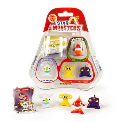 Figuras Star Monsters Blister pack