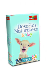 Juego de cartas Bioviva Desafíos Naturaleza Baby Granja