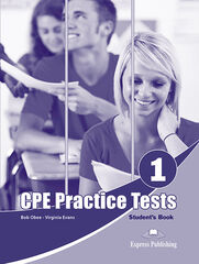 CPE PRACTICE TESTS 1 S'S BOOK Express Publishing 9781471575907