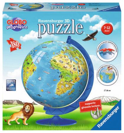 Puzzle Ravensburger Esferic Globo Geográfico