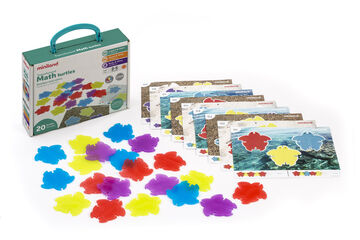 Anillas de colores Miniland Translúcidas