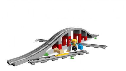 LEGO Duplo Puente y vías ferroviarias (10872)