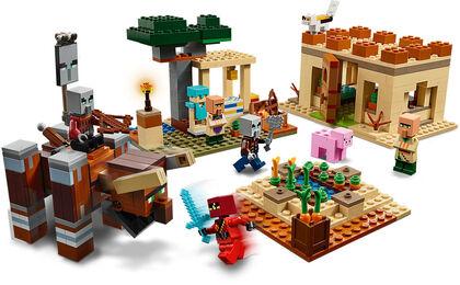 LEGO Minecraft La Invasión de los Illager (21160)