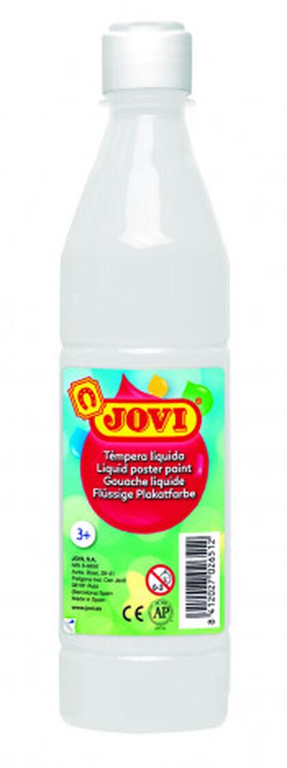 Tempera líquida  Jovi 500 ml Blanc