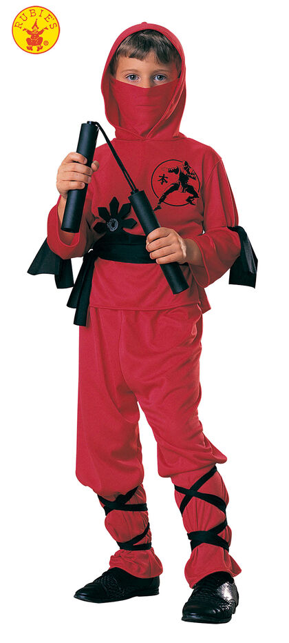 Disfraz Rubie Ninja rojo De 8 a 10 años